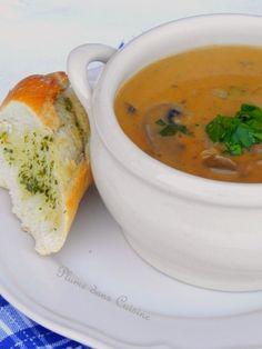 La Hongrie nous offre le goulasch mais aussi une exquise soupe aux champignons… Il y a quelques jours, j'avais envie d'une bonne soupe chaude, j'avais des champignons qui me…