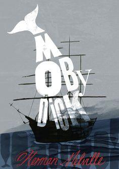 »DoeDeMee«: 100 Designer gestalten 100 Buch-Cover neu. »Moby Dick« von Shelley Revill, UK