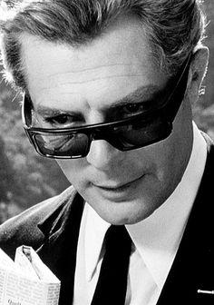 Marcello Mastroianni--the definition of cool..