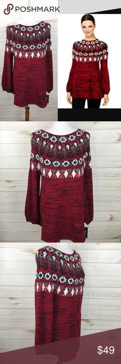 Style & Co Crewneck Knit Sweater NWT - Great Condition - Never Worn - Great for Winter! Style & Co Sweaters