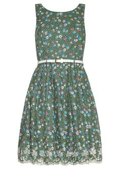 Dotty Floral Printed Dress