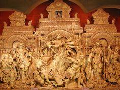 Durga Pooja Pandal...
