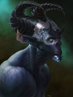 Blue Demon by GaryLaibArt on deviantART