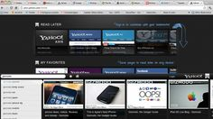 Yahoo's Launched Own Latest Axis Browser....