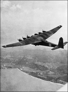 Messerschmitt Me 323D-1 Gigant in flight.