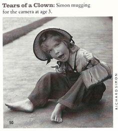 FAME January 1989 Carly Simon age 3 child