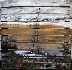Custom Wooden Pallet Paintings: Pallet Paintings