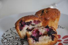 Böğürtlenli Muffin Nasıl Yapılır? Böğürtlenli Muffin Tarifi?
