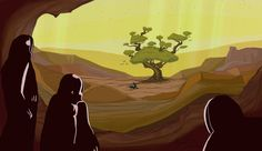 We discovered tree on Mars!, but beware of the guardian!
