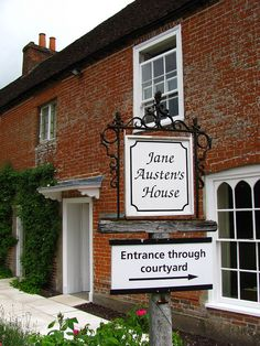 Jane Austen's final home in Chawton, England.  I'll be there in just one month, and I'll be blogging about it at http://www.edelweisspatterns.com/blog