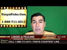 LA Lakers vs. New Orleans Pelicans Pick Prediction NBA Pro Basketball Od...