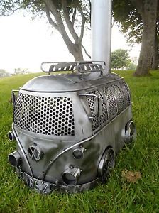 VW-Camper-van-Wood-burner-log-stove-garden-patio-heater-chimenea-splitty-kombi