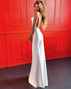 A structured, double pleated bodice. 'A' line skirt silhouette with centre back 'V' dipped box pleat. Pleated Wedding Dresses, White Bridal Dresses, Prom Dresses, Smocked Dresses, Bridesmaid Dresses, Sheath Wedding Gown, Wedding Gowns, Wedding Lace, Bridal Gown