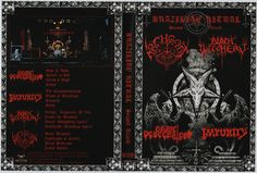 1.Grave Desecrator - Sign of Doom 2.Grave Desecrator - Stared in Hell 3.Grave Desecrator - Christ's Blood 4.Grave Desecrator - Insult 5.Impurity - The Excommunication 6.Impurity - Mass of Mutilation 7.Impurity - Sekmeth 8.Impurity - Sabat 9.Black Witchery - Unholy Vengeance of War 10.Black Witchery - Crush the Messiah 11.Black Witchery - Ritual (Blasphemy cover) 12.Black Witchery - Deathrash (Sarcófago cover) 13.Archgoat - Black Messiah 14.Archgoat - Apotheosis of Lucifer…