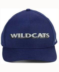 Nike Arizona Wildcats Local Dna Verbiage Swoosh Flex Cap - Blue OSFM