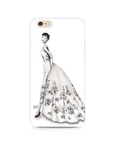 Audrey Hepburn Phone case iphone 6 iphone 6 plus iphone 5/5s by ThePaintedShoeArt