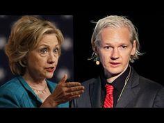 """Julian Assange Calls Hillary Clinton a """"War Hawk"""""""