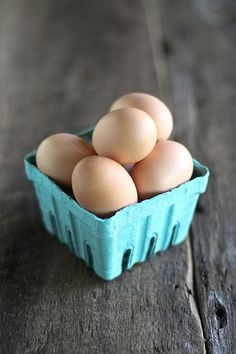 eggs....a great starting point