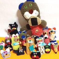京都のDuce mix gallery+shopさんに納品しました。お近くの方是非お越しください。遠方の方はお店にお問合せください。デュースミックスオンラインショップも是非ご覧ください!ducemix.net #人形 #ぬいぐるみ #Ducemixgallery#Ducemixshop