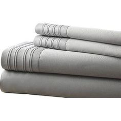 1000 Thread Count Egyptian Cotton Sheet Set in Gray