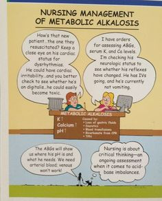 Suffering from diabetes ketoacidosis is undoubtedly an acute metabolic muscular disease of adult-onset diabetes characterised by hyperglycemia, hyperketonemia, and metabolic acidosis. Nursing Study Tips, Nursing Labs, Med Surg Nursing, Rn Nurse, Nurse Life, Nurse Humor, Nurse Stuff, Acidosis And Alkalosis, Metabolic Alkalosis