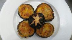 #표고전 Baked Potato, Zucchini, Potatoes, Baking, Vegetables, Ethnic Recipes, Food, Potato, Bakken