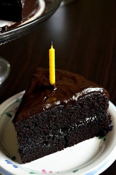 For the Love of Dessert: Chocolate Fudge Cake...I know I know I just can't resist a chocolate cake.