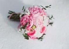пионы в букете невесты #wedding #flowers