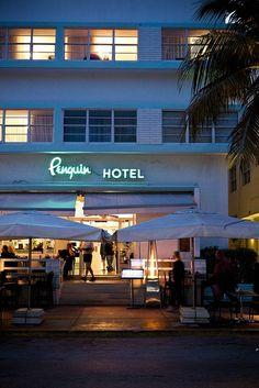 South Beach, what else? Penguin Hotel   Miami South Beach by MySoBe.com the website of South Beach!