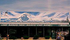 Tsunami Mural Approximate Location: 2500 Willamette ave Eugene, Oregon 97405 United States  Artist: Dan Hitchcock