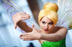 Tinkerbell #peterpan #disney #cosplay