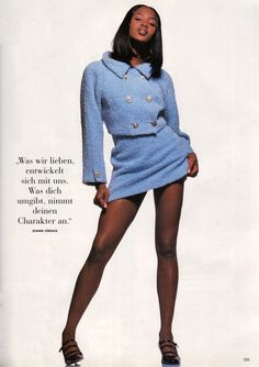 """midnight-charm: """"Extravaganz"""" Naomi Campbell photographed by Albert Watson for Vogue Germany September 1994 Styling: Claudia DelormeMakeup: Mark HaylesHair: Enzo Laera ✨ clothes men 2000s Fashion, Runway Fashion, Fashion Models, High Fashion, Celebrities Fashion, Niki Taylor, Teyana Taylor, Haute Couture Style, Naomi Campbell 90s"""