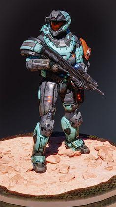 Halo 3 Odst, Halo 2, Armor Concept, Concept Art, Halo Drawings, Halo Armor, Halo Spartan, Halo Master Chief, Halo Collection
