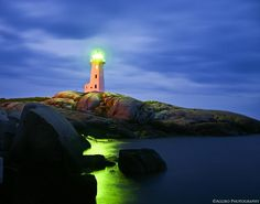 Peggy's Cove Light House. Nova Scotia.