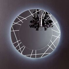 Segment LED Mirror, Round