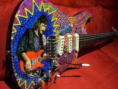 https://flic.kr/p/dEDtp   Carlos Santana Electric Guitar   Carlos Santana Electric Guitar