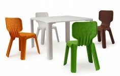 Bright Child's Table And Chairs