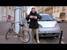 Sistema de transporte eco-sustentable en la ciudad de París.  paris   bicicleta 6bbf33285a178