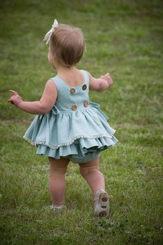Isobel Baby Top & Dress Isobel Baby Dress and Top Baby Girl Dress Patterns, Baby Dress Design, Baby Clothes Patterns, Cute Baby Clothes, Sewing Patterns, Baby Outfits, Outfits Niños, Kids Outfits, Fashion Kids