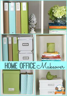 Inexpensive Teacher Home Office Makeover [ Specialtydoors.com ] #office #specialty #custom