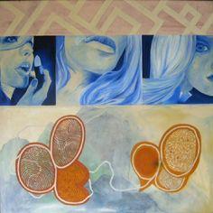 juergen freitag o.T.  100 x 100 oil on canvas