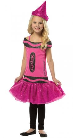 Crayola Shimmering Blush Costume - Groups & Themes