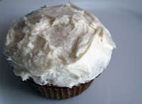 This dairy-free buttercream -     1 cup DF soy margarine (such as Willow Run or another dairy-free butter substitute),     4 cups confectioners' sugar,     1 t. vanilla extract,     2 T. plain unsweetened almond milk or soymilk,     1 T. plain soy yogurt.