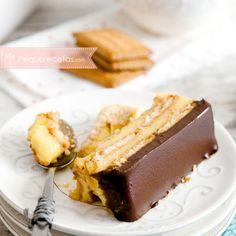 Postres caseros fáciles: tarta de flan, galletas y chocolate