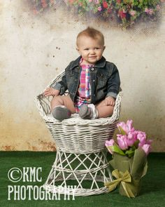 one year old - KMC Photography