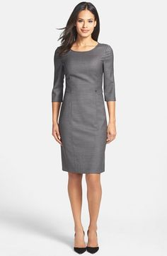 BOSS HUGO BOSS BOSS 'Dewona' Sheath Dress available at #Nordstrom. $500+. Tag on shopstyle for sale