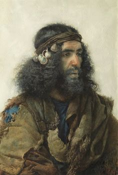 "rebekahloves: "" dynamicafrica: "" Portraits of Moroccans by Spanish artist José Tapiro y Baro (1830-1913) "" the top painting looks exactly like my dad. """