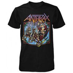 Tricou Anthrax: Christmas Is Coming - MetalHead Merch Math Shirts, Tee Shirts, Tees, Mens Clothing Trends, Men's Clothing, Branded Shirts, Us Man, Christmas Is Coming, Funny Tshirts