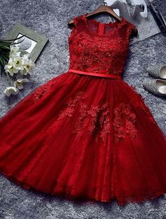 Burgundy lace tulle short prom dress, lace evening dress, Shop plus-sized prom dresses for curvy figures and plus-size party dresses. Ball gowns for prom in plus sizes and short plus-sized prom dresses for Gold Prom Dresses, Cheap Homecoming Dresses, Prom Dresses For Sale, Lace Evening Dresses, Lace Dress, Dress Prom, Dresses Dresses, Short Dresses, Bridesmaid Dresses