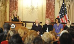 Avon Global Ambassador Reese Witherspoon joins Avon as they announce a donation to the U.S. State Department Secretary's Fund for Global Woman's Leadership in 2010.